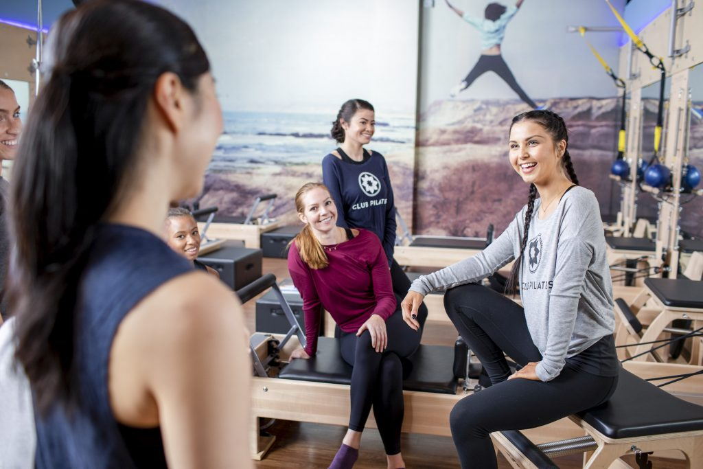Pilates Studio Sippy Downs - people at a Pilates studio